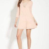 Crisscross-Front Dress