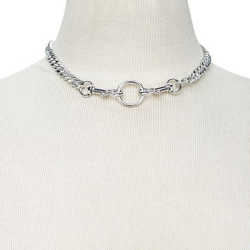 O-Ring Curb Chain Choker