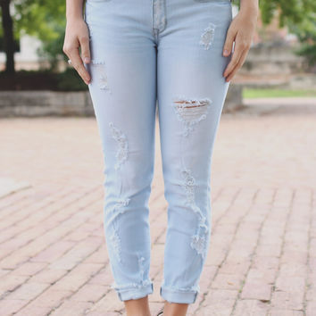 Remain Untamed Denim - Light Wash
