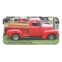 Red 1953 Chevy Pickup Truck-iPhone 6 Case
