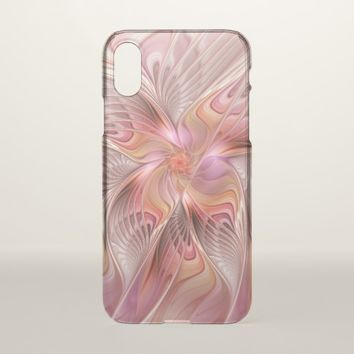Abstract Butterfly Colorful Fantasy Fractal Art iPhone X Case