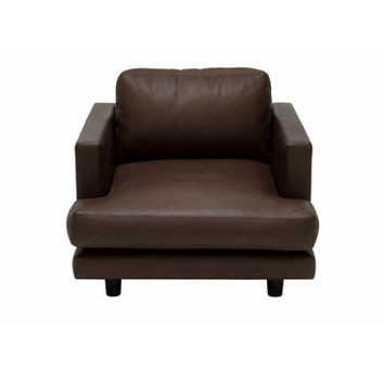 D'Urso Residential Lounge Chair - Leather