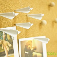 INFMETRY:: Paper Plane Push Pins - New Products