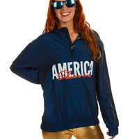 Gals' The First American Shine On Windbreaker