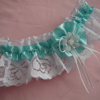 Lace garter, Wedding/Prom garter