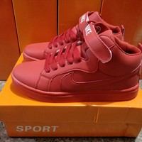 """Nike"" Unisex Sport Casual High Help Sneakers Couple Plate Shoes"