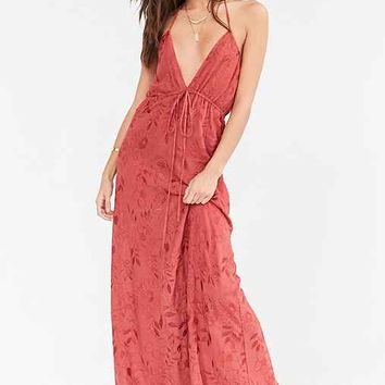 Flynn Skye Malia Plunging 2-Way Maxi Dress