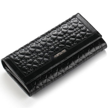 Leather Wallet Ladies Casual Clip [9338144903]