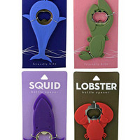 Sea Life Bottle Openers - Unique Vintage - Cocktail, Evening & Pinup Dresses