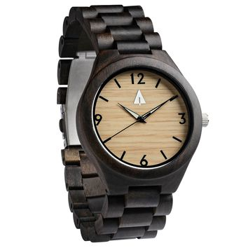 All Wood Watch // All Ebony Nova
