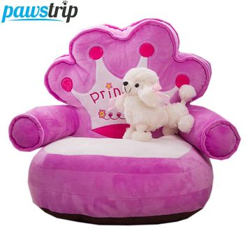 7 Design Cartoon Dog Beds Winter Warm Princess Puppy Bed Soft PP Cotton Padded Chihuahua Dog Sofa Bed