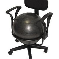 Low-Back Deluxe Ball Chair: Office Products