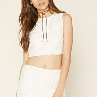 Contemporary Lace Crop Top | Forever 21 - 2000222466