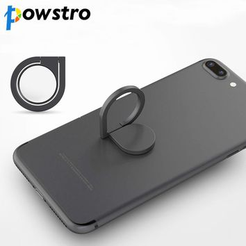 Universal Mobile Phone Finger Ring 360 Rotatable Smartphone Stand Car Phone Holder for For iPhone Samsung Smart Phone Tablet GPS