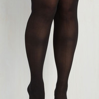 Statement Flaunts and Needs Thigh Highs - Extended Size Size OS by ModCloth