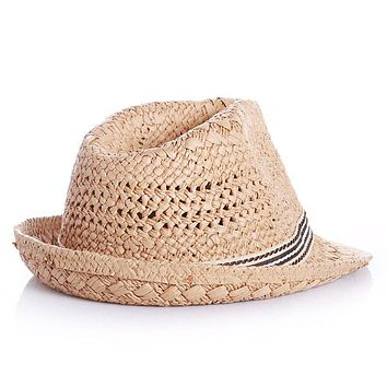 9b14cec8b4397 Summer Lovely Bear Child Sun hat Beach Sunhat Fedora hat Trilby
