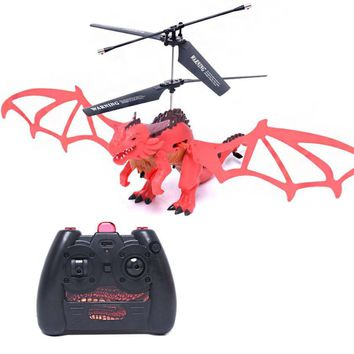 New Style X75 Drone 3.5CH Infrared Remote Control Dragon Aircraft Octopus Dragon aircraft Unique Drone RC toys for children
