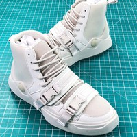 Han Kj?benhavn X Puma Abyss White High Sneakers - Best Online Sale