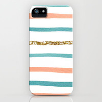Sparkle Stripe iPhone Case by Social Proper | Society6