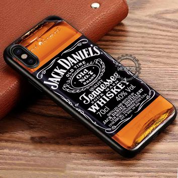 Whiskey Jack Daniels iPhone X 8 7 Plus 6s Cases Samsung Galaxy S8 Plus S7 edge NOTE 8 Covers #iphoneX #SamsungS8