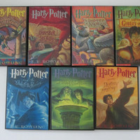 Full Set of Harry Potter Book Cover Coasters - Great Gift for the Harry Potter Fans