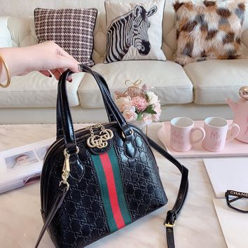 HCXX 19Oct 041 Gucci Ophidia Shoulder Strap Crossbody Pouch Handle Fashion Bowler Bag 26-22cm
