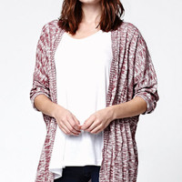 LA Hearts Ribbed Cocoon Cardigan at PacSun.com