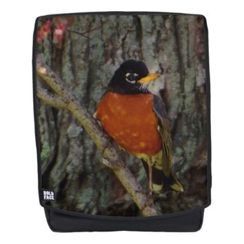 Michigan State Bird Robin Backpack