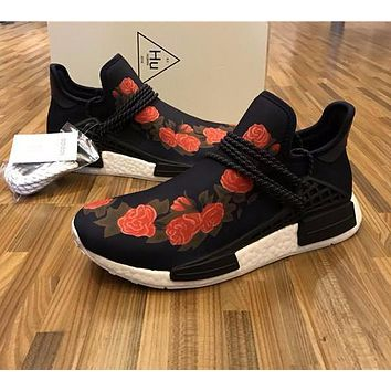 Sale GUCCI x Pharrell Williams x Adidas PW HU Human Race NMD Boost Sport Running Shoes Classic Casual Shoes Sneakers