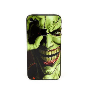 Wicked Joker iPhone Decal iPhone Stickers iPhone by Newvision2012