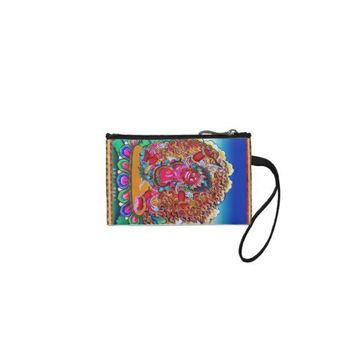Cool oriental tibetan thangka tattoo Hayagriva Coin Wallet from Zazzle.com