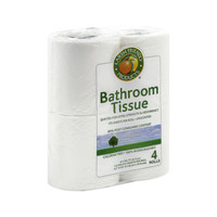 Earth Friendly Bathroom Tissue 2 Ply - Pack of 4 Rolls