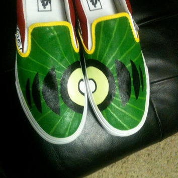Custom Hand Painted Shoes 311 Soundsystem by RyTee on Etsy