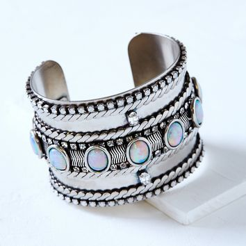 Free People Adderley Opal Cuff