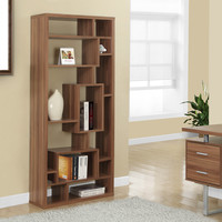 "Walnut Hollow-Core 72""H Bookcase"