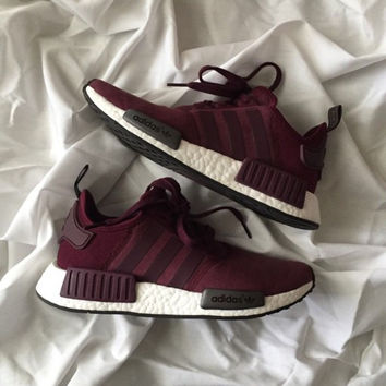 Adidas NMD Boost Women Running Sport Casual Shoes Sneakers fa1880c06