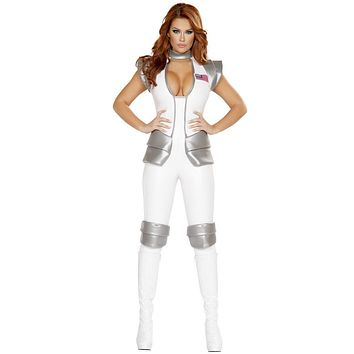 Atlantis Space Woman Commander Suit Halloween Costume