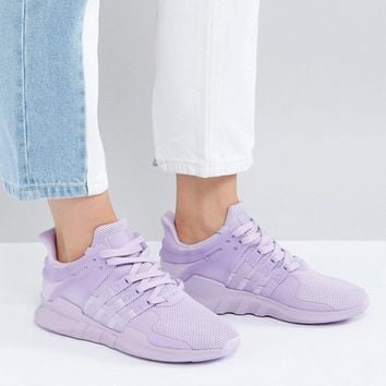 adidas Originals EQT Support Adv Trainer In Lilac at asos.com