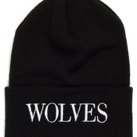 Raised by Wolves September Watch Hat - Black