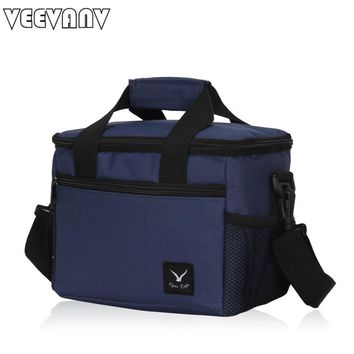 2017 VEEVANV Lancheira Thermo Lunch Bags Cooler Insulated Lunch Bags New Thermal Bag Lunch Box Food Picnic Package Tote Handbags