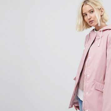 Vero Moda Waterproof Rain Coat at asos.com