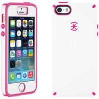 SPECK 71130-B876 iPhone(R) 5/5s CandyShell(R) Case + Faceplate (White/Raspberry Pink)