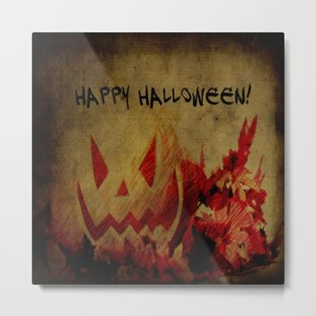 Halloween  Metal Print by Jessica Ivy