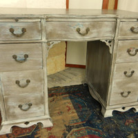 Lovely Painted Writing Desk/Vanity