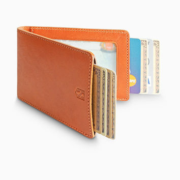 Credit Card Sleeve Holder with RFID Blocking / Tan
