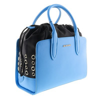 Moschino Blue Satchel/Shoulder Bag