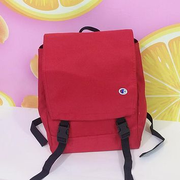 Champion Woman Men Casual Fashion Backpack Bookbag Shoulder Bag