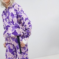 RIPNDIP Oversized Hoodie In Camo Co-Ord at asos.com