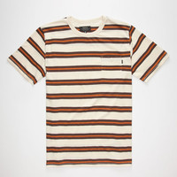 Matix Fares Mens Pocket Tee Natural  In Sizes