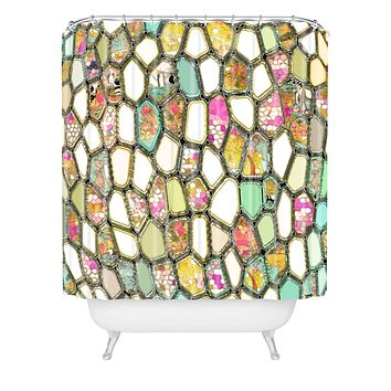 Ingrid Padilla Cells Shower Curtain